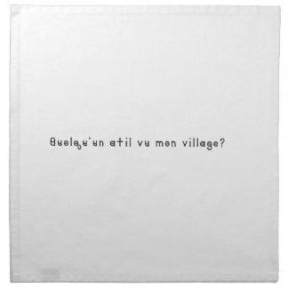 French-Village Napkin