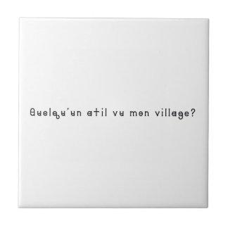 French-Village Tile