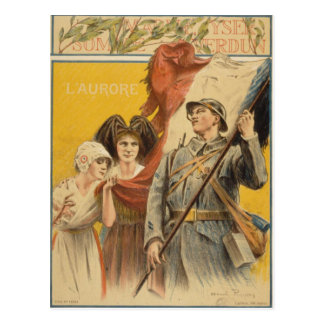 French vintage : first world war postcard
