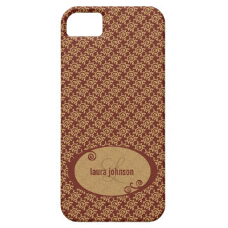 French Vintage Floral Pattern iPhone 5 Case