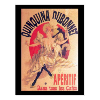 French vintage postcard Dubonnet