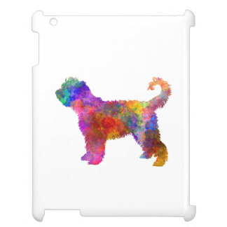 French Water Dog in watercolor Cover For The iPad 2 3 4