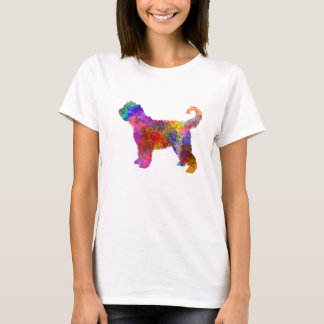 French Water Dog in watercolor T-Shirt