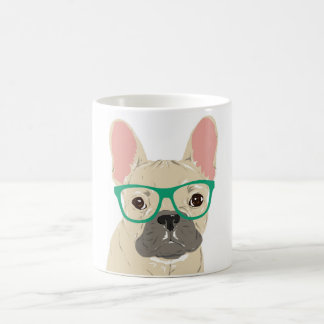 French Wearing Glasses Mug