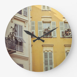 French Window Clock By Megaflora