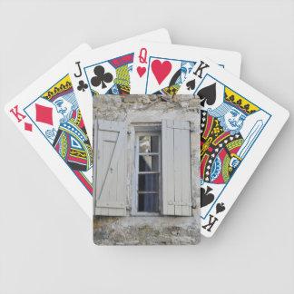 French Window Poker Deck