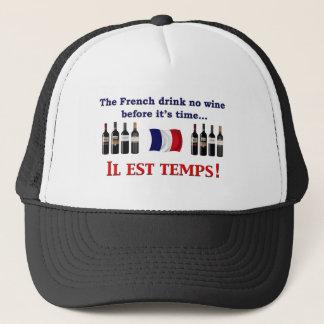 French Wine Drinkers Trucker Hat
