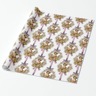 French Woman Wrapping Paper