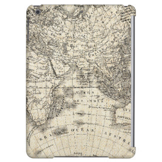 French World Map II 6 Cover For iPad Air
