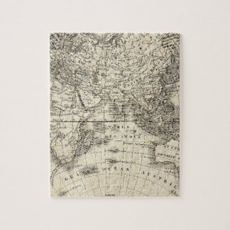 French World Map II 6 Jigsaw Puzzle