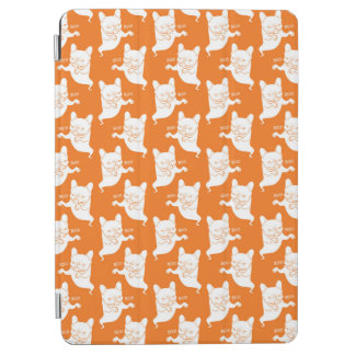 Frenchie Boo Boo Halloween Ghost iPad Air Cover