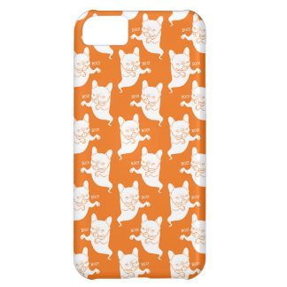 Frenchie Boo Boo Halloween Ghost iPhone 5C Covers