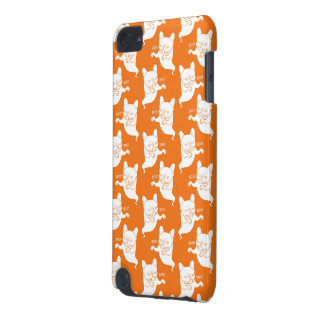 Frenchie Boo Boo Halloween Ghost iPod Touch (5th Generation) Cover