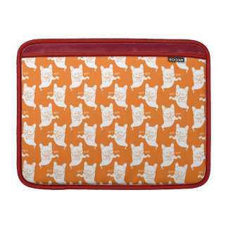 Frenchie Boo Boo Halloween Ghost Sleeve For MacBook Air