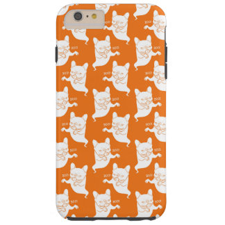 Frenchie Boo Boo Halloween Ghost Tough iPhone 6 Plus Case