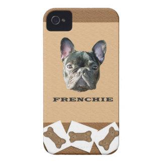 Frenchie Dog Biscuit Blackberry Case