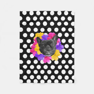 Frenchie Dots Blanket