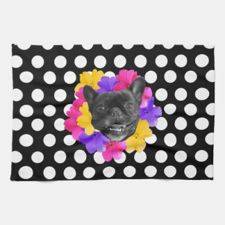 Frenchie Dots Towel