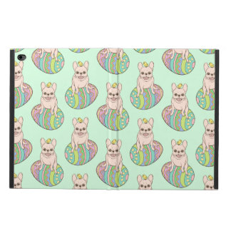 Frenchie & Easter Chick on Colorful Easter Egg Powis iPad Air 2 Case