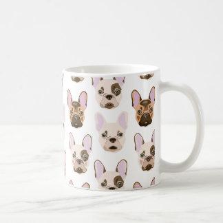 Frenchie Faces Coffee Mug