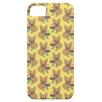 Frenchie has a Birthday iPhone 5 Cover