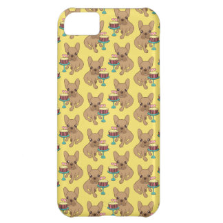 Frenchie has a Birthday iPhone 5C Cover