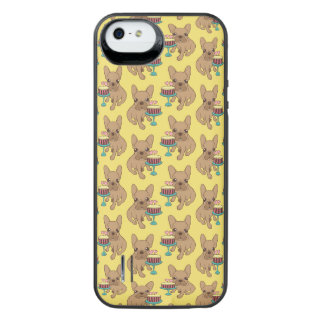 Frenchie has a Birthday iPhone SE/5/5s Battery Case