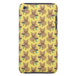 Frenchie has a Birthday iPod Case-Mate Case