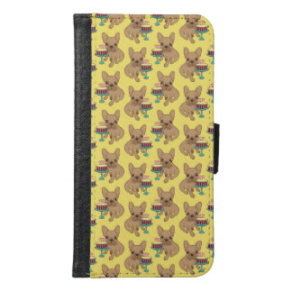 Frenchie has a Birthday Samsung Galaxy S6 Wallet Case