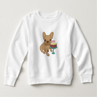 Frenchie has a Birthday Sweatshirt
