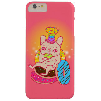 Frenchie is The King of Doughnuts Barely There iPhone 6 Plus Case