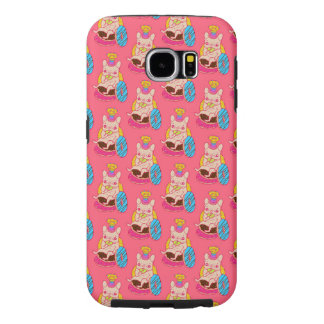 Frenchie is The King of Doughnuts Samsung Galaxy S6 Cases