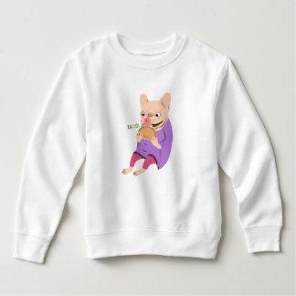 Frenchie Loves Taco Sweatshirt