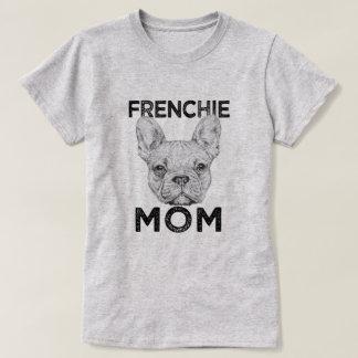 Frenchie Mom Funny French Bulldog womens shirt