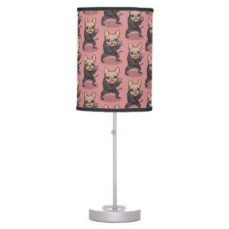 Frenchie Ninja Desk Lamp