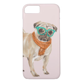 Frenchie Pug (Background Color Editable) iPhone 8/7 Case