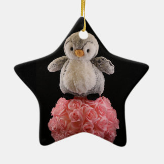 Frenchie the Penguin Ornament