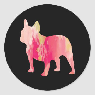 Frenchie Watercolor Stickers