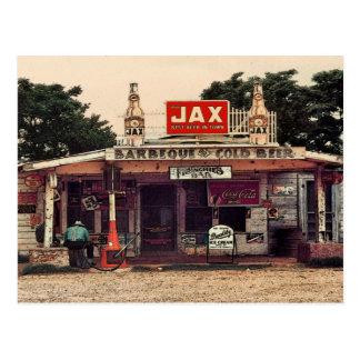 Frenchie's Bar Postcard