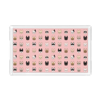 Frenchies Family Acrylic Tray