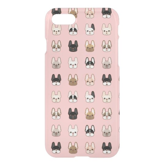 Frenchies Family iPhone 7 Case