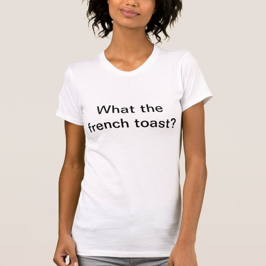 FrenchToast Tshirt (women)