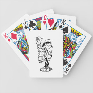 Frenchy Bicycle Playing Cards