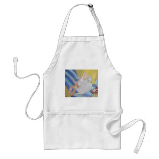 Frenchy w/pink panther standard apron