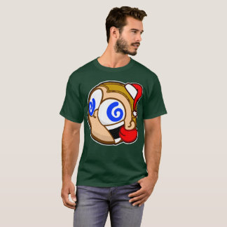 FRENZIEDminds Crazy dons the Santa Hat! T-Shirt
