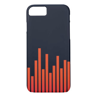 Frequency of music iPhone 7 Case