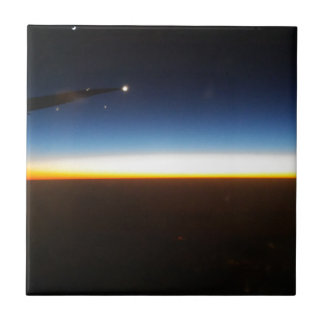 Frequent Flyer Horizontal Ceramic Tile