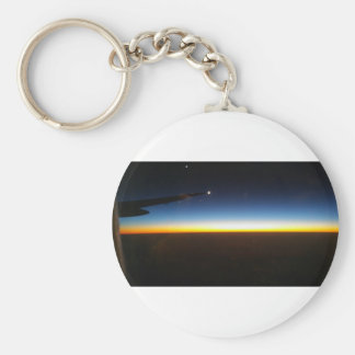Frequent Flyer Horizontal Keychain