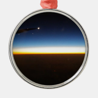 Frequent Flyer Horizontal Metal Ornament