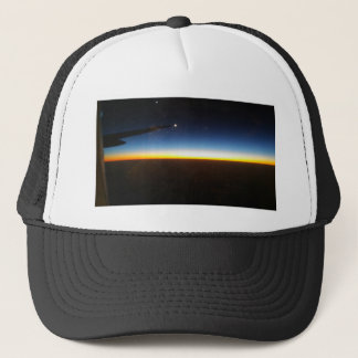 Frequent Flyer Horizontal Trucker Hat
